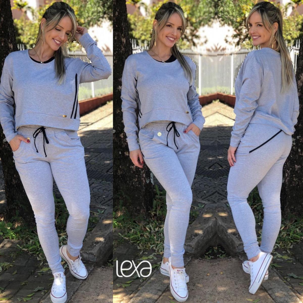22b473dc1 Conjunto Laís Eliana Mescla na Lexafitwear.