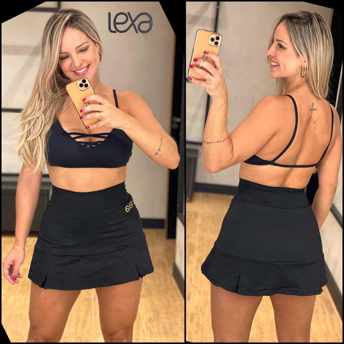 Saia Shorts Tânia Preta