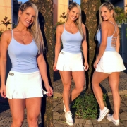 Saia Shorts Zíper Branca