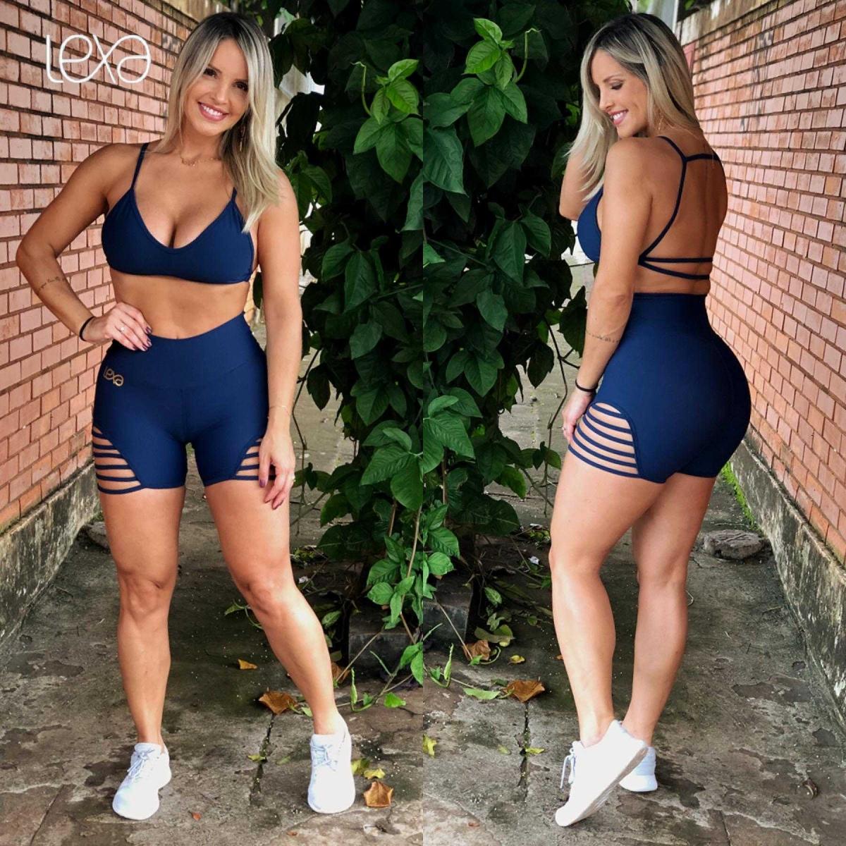 Shorts Califa  Azul Marinho