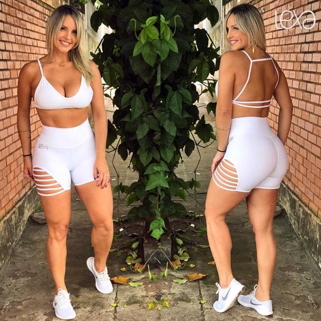 Shorts Califa Branco