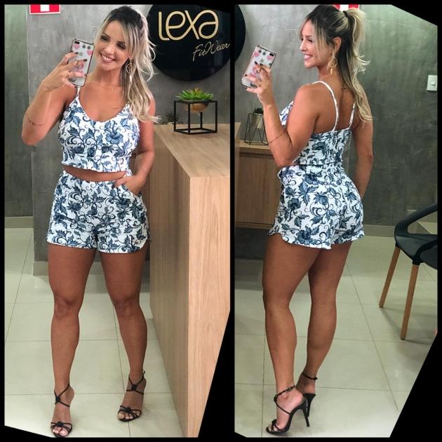 Shorts Daisy Camélia