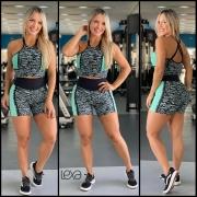 Shorts Faixa Estrada Green