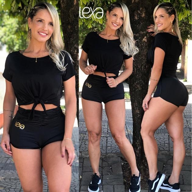 Shorts SH1 Cirré Preto