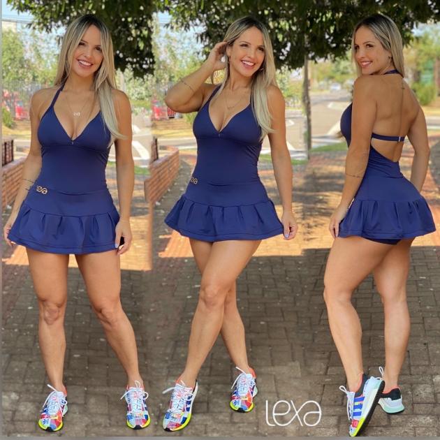 Vestido 2 Azul Marinho