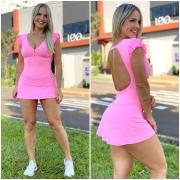Vestido 3 Rosa Chiclete
