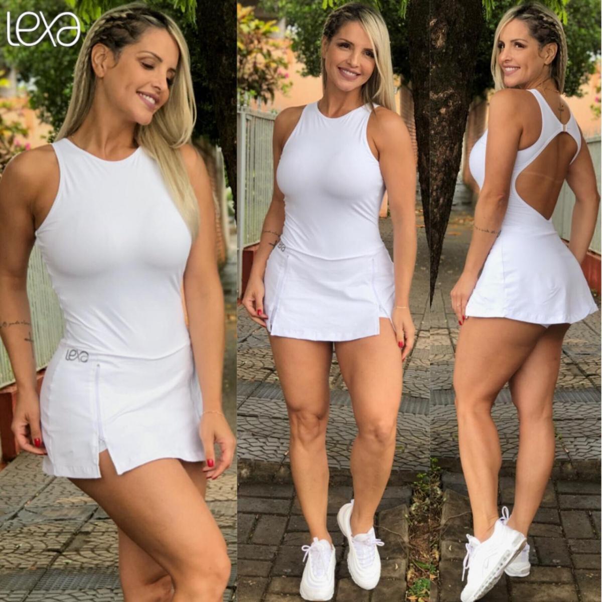 Vestido Zíper Branco
